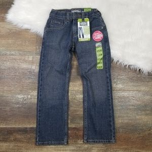 NWT Levi's Straight Jeans Boys Size 8 Slim